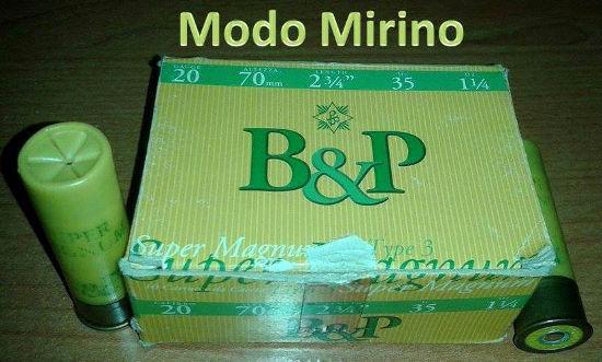 Vecchia confezione delle B&P SUper Magnum Cal20