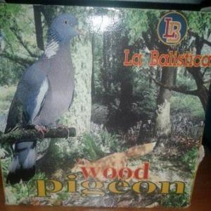 La balistica wood pigeon