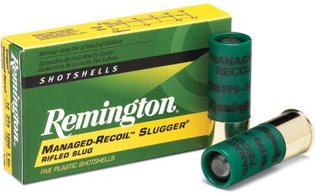 Remington Slugger Rifled Slugs