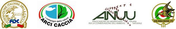 Associazioni unite FENAVERi, Fedel caccia, Enalcaccia, Arcicaccia e Anuu Migratoristi
