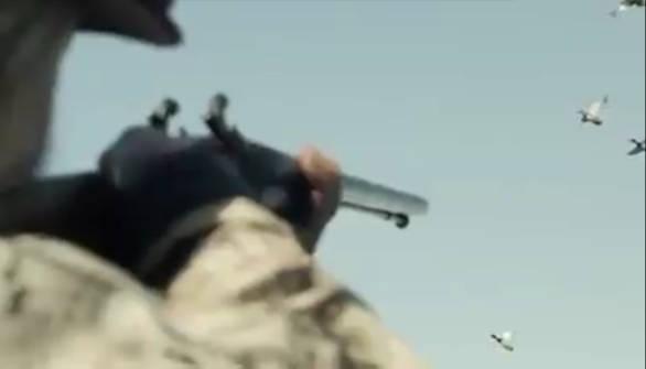 A caccia con fucili ad Avancarica sulle Anatre