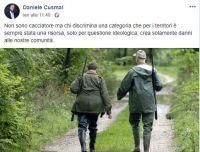 Daniele Cusmai e Lega Foggia vicini ai cacciatori