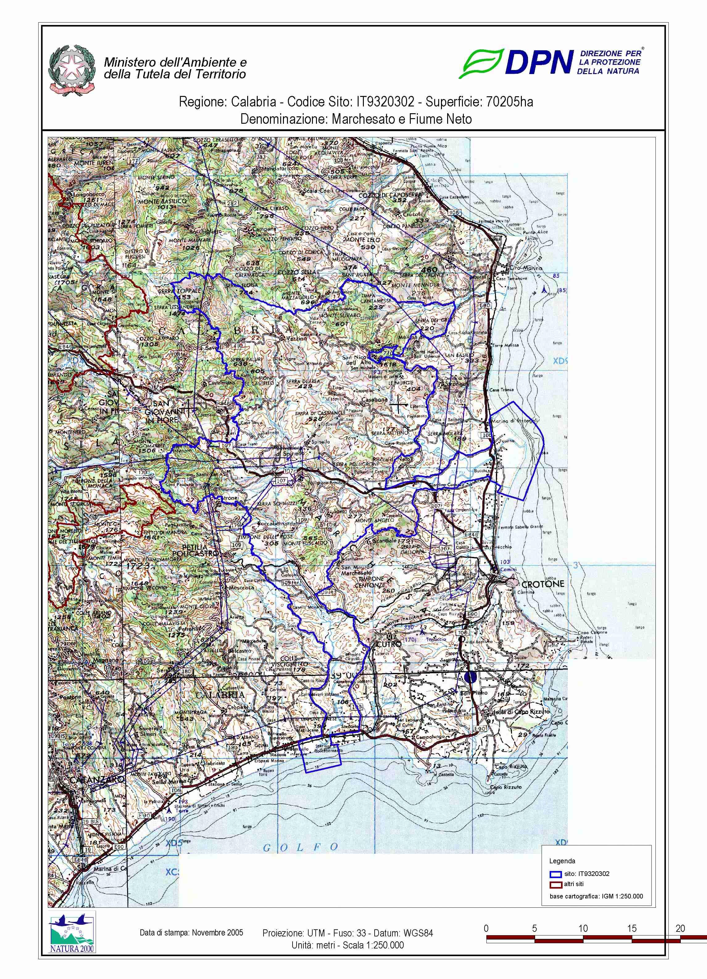 Cartina Atc Sicilia.Mappe Zps Calabria Community Caccia Modo Mirino