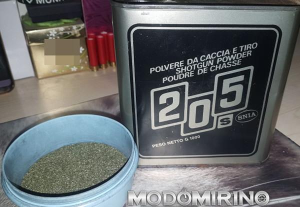 Polvere 205S lattina