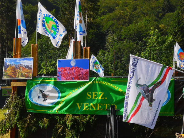 3 Festa del Cacciatore e della Montagna a Valli del Pasubio Club Colombaccio Sez Veneto