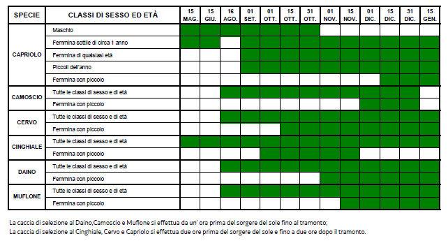 Friuli Venezia Giulia Calendario Selezione 2019