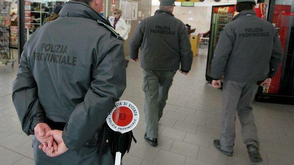Agenti della polizia provinciale di Vicenza