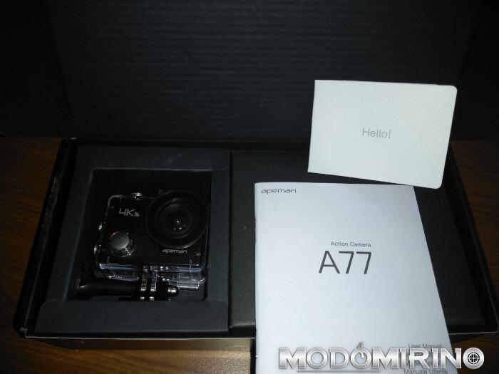 APeman A77 unboxing