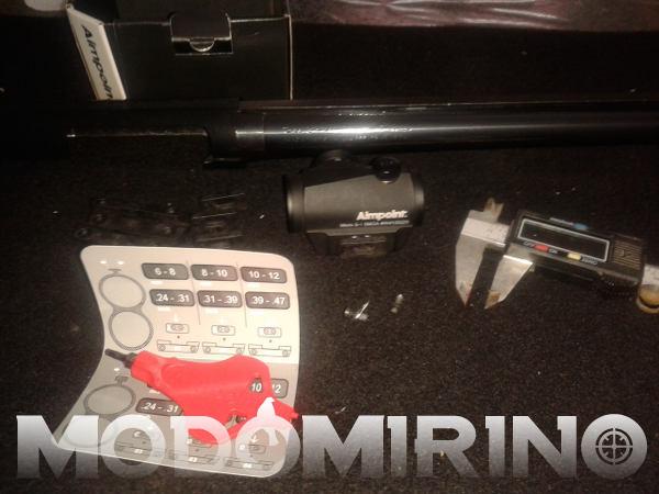 Aimpoint micro S1 montaggio