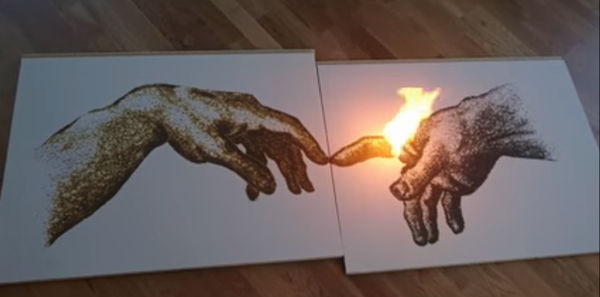 Gun Powder Art